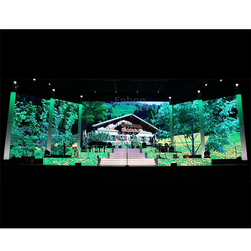 P4.81 Smart LED Display with LCD Indicator for Indoor Rental Events