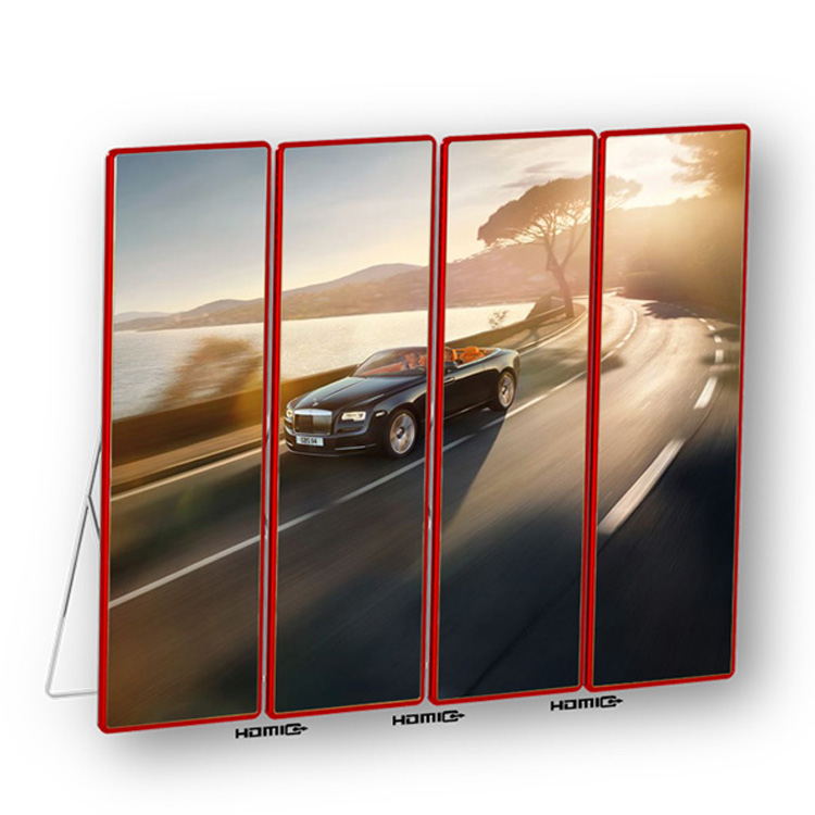P2.5 HD Mirror Led Display Poster Screens for Fashion Store Hotel Advertising ( 640*1920 mm )
