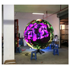 P4.8 Indoor 360 Degree Visible Led Sphere Screen 3d Creative Ball Display