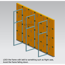 Floor Stand Structure for Led Display