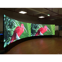 P2.97 Arc Style Indoor Curvable Led Video Screen for Stage Events ( 500x500mm )