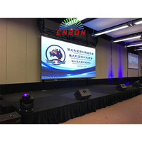 P4.81 Indoor HD Visual Stage Backdrop 500*500mm Led Wall