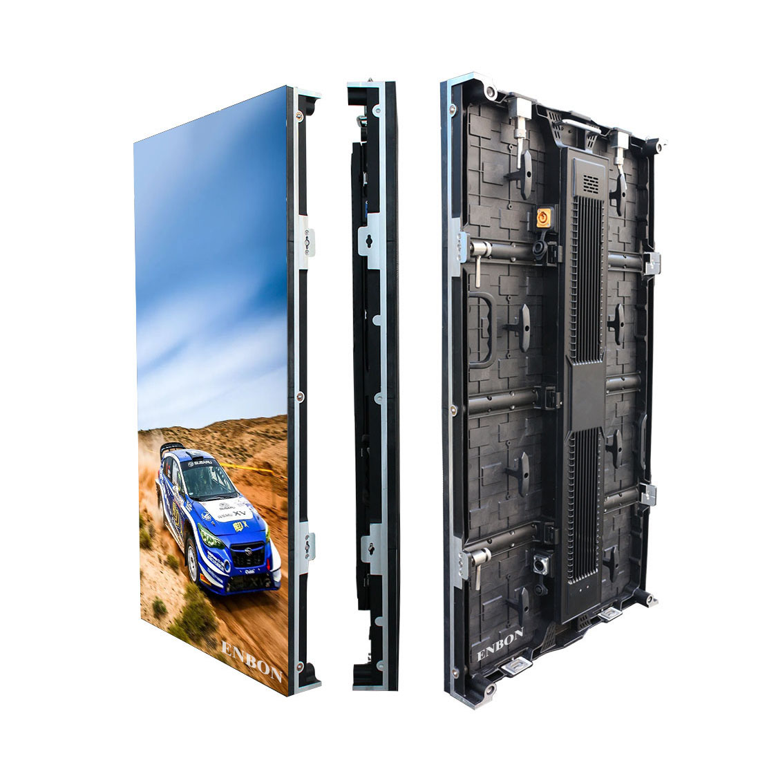P6.25 Die Casting 500*500 / 500*1000mm Truck Trailer Mobile LED Display for Advertising