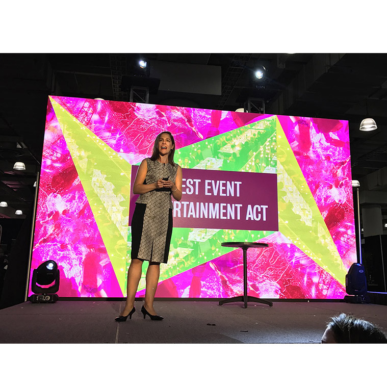 P3.91 Super High Refresh Vivid Stage Led Screen for Indoor Rental Events