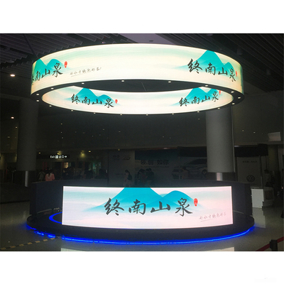 P4 Front Service Flexible 256x128mm Soft Led Display Module for Indoor Curved Show