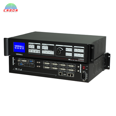 4K 2K resolution LED video wall scaler splicer VDwall LVP608 Video Processor with 8 DVI outpouts maxinum