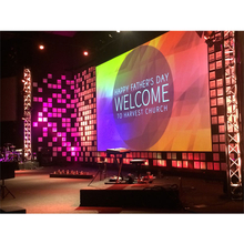 P3.9 Indoor Church Stage Musical Concert Led Display Screen