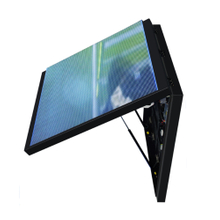 P10 Hydraulic Rod Device Front Open Lip Cabinet Front Service Customized Size Led Display for Outdoor Ads