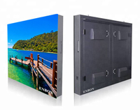 P6 Iron Aluminum Cabinet Outdoor Customized LED Display Board for Commercial Video Advertising