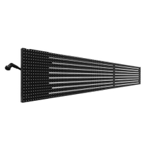 P10x13mm Outdoor Transparent Media Facade Strips Led Video Display Led Curtain for Advertising